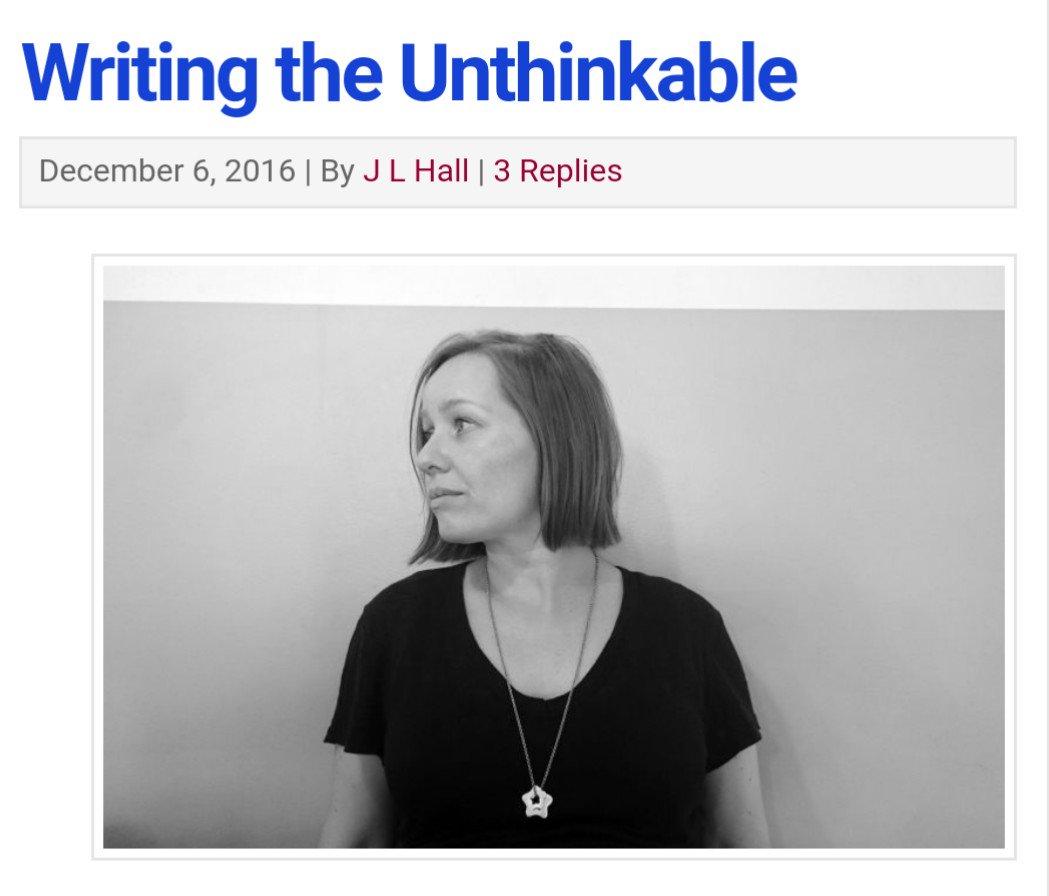 Writing the Unthinkable